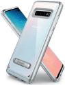 Spigen Ultra Hybrid S pouzdro pro Samsung Galaxy S10+, transparentní