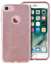 Puro Shine pouzdro pro Apple iPhone 8/7/6S/6, růžovo-zlaté