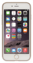 Xqisit Flex Case Chromed Edge pouzdro pro iPhone 8/7/6S/6, zlatá
