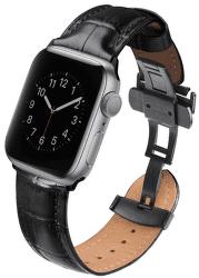 Uniq Caro řemínek pro Apple Watch 44 mm, černá