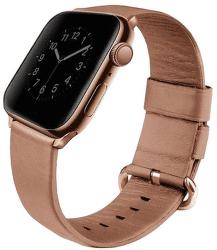 Uniq Mondain řemínek pro Apple Watch 40 mm, růžová