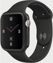 Uniq Glase Slim TPU 40 mm pouzdro pro Apple Watch Series 4/5, černá