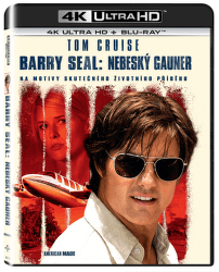 Barry Seal: Nebeský gauner - 2xBD (Blu-ray + 4K UHD)