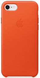 Apple kožený kryt pro iPhone 8 a 7, jasně oranžový