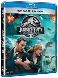Jurský svět: Zánik říše - Blu-ray film (3D + 2D)