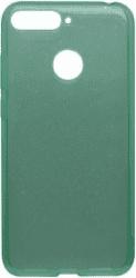 Mobilnet Crystal silikonové pouzdro pro Huawei Y6 Prime 2018, zelené