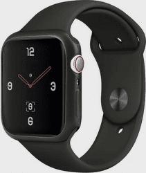 Uniq Glase Slim TPU 44 mm pouzdro pro Apple Watch Series 4/5, černá