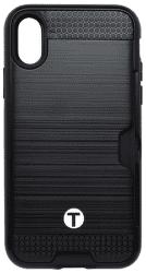 Mobilnet plastové pouzdro pro iPhone X, černé