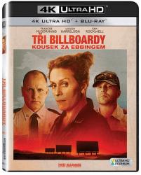 Tři billboardy kousek za Ebbingem - Blu-ray + 4K UHD film