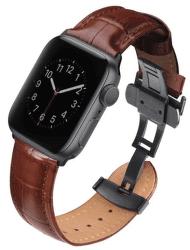 Uniq Caro řemínek pro Apple Watch 44 mm, hnědá