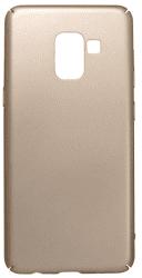 Mobilnet plastové pouzdro pro Galaxy A8 2018, zlaté
