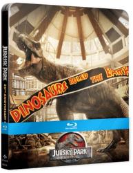 Jurský park -  4x Blu-ray kolekce