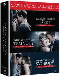 Padesát odstínů - Kolekce 3x Blu-ray film