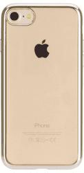 Xqisit Flex Case Chromed Edge pouzdro pro iPhone 8/7/6S/6, zlaté