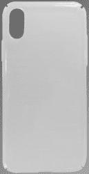 Mobilnet plastové pouzdro pro Apple iPhone X a Xs, transparentní