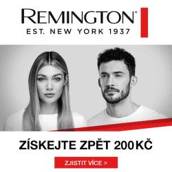 Cashback 200 Kč na produkty Remington