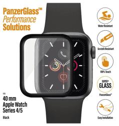 PanzerGlass ochranné sklo pro chytré hodinky Apple Watch series 4 a 5 40 mm, transparentní