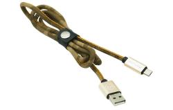 Mizoo X28-11m microUSB kabel 2,1 A 1m