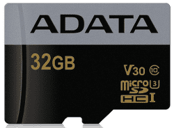 ADATA Premier Pro microSDHC 32GB UHS-I U3