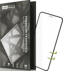TGP tvrzené sklo pro Apple iPhone X, černé