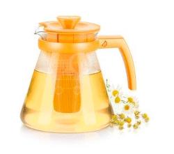 Tescoma Teo Tone žlutá konvice na čaj (1,25L)