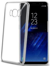 Celly Laser pouzdro pro Samsung Galaxy S8, stříbrná