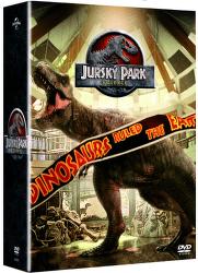 Jurský park - 4x DVD kolekce