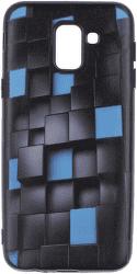 Winner 3D Cubes pouzdro pro Samsung Galaxy J6 2018, černé