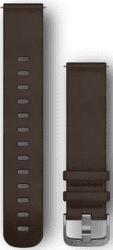 Garmin Quick Release 20mm kožený řemínek hnědý