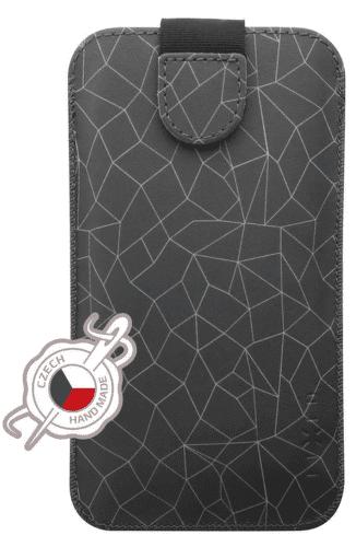 Fixed Soft Slim puzdro veľ. 4XL s motívom Grey Mesh