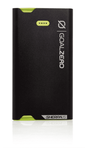 Goal Zero Sherpa 15 USB-C/microUSB powerbanka 3870 mAh, černá