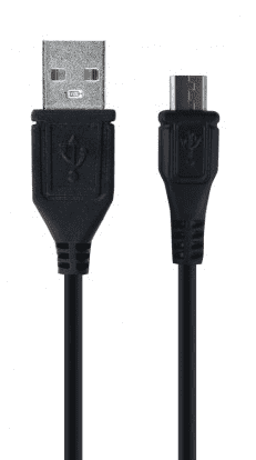 Forever microUSB kabel 1m, černá