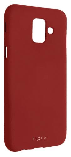 Fixed Story silikonové pouzdro pro Samsung Galaxy A6, červená
