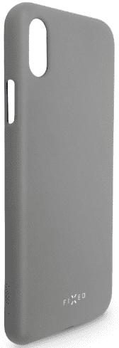 Fixed Story silikonový zadní kryt pro Huawei P30, šedá