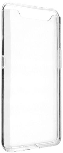 Fixed TPU gelové pouzdro pro Samsung Galaxy A80, transparentní