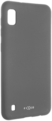 Fixed gumové pouzdro pro Samsung Galaxy A10, šedá