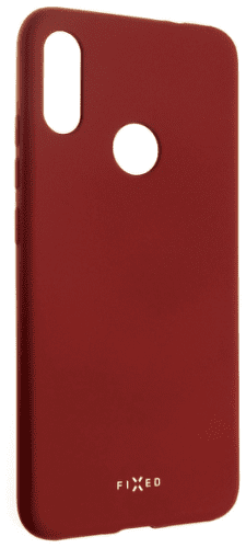 Fixed Story pogumované pouzdro pro Xiaomi Redmi 7, červená