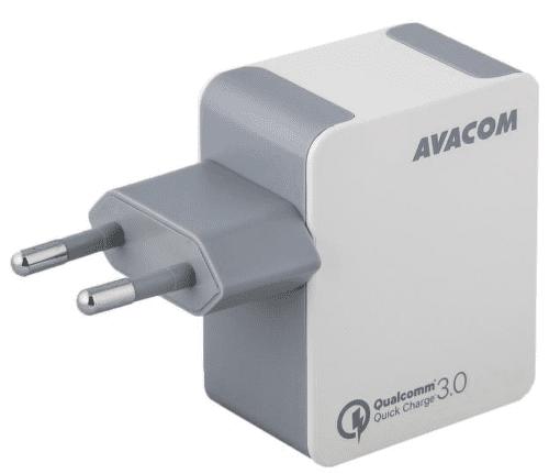 Avacom HomeMax QC 3.0 USB nabíječka, bílá