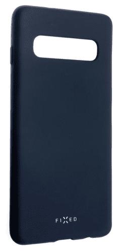 Fixed Story silikonové pouzdro pro Samsung Galaxy S10, modrá