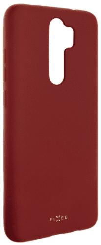 Fixed Story pogumované pouzdro pro Xiaomi Redmi Note 8 Pro, červená