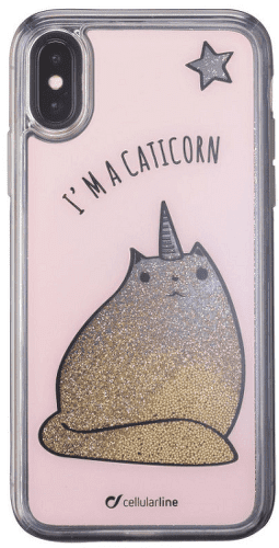 CELLULAR LINE iPhone X Caticorn