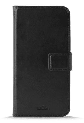 Puro Wallet knížkové pouzdro pro Samsung Galaxy A6+, černá