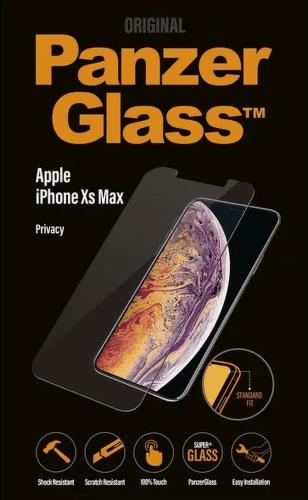 PanzerGlass Standard Privacy tvrzené sklo pro Apple iPhone Xs Max, transparentní