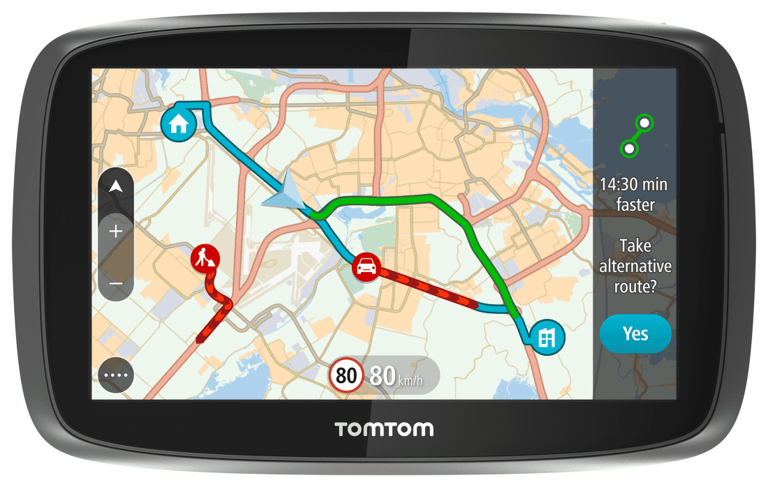 TomTom GO 5100 World Traffic Lifetime