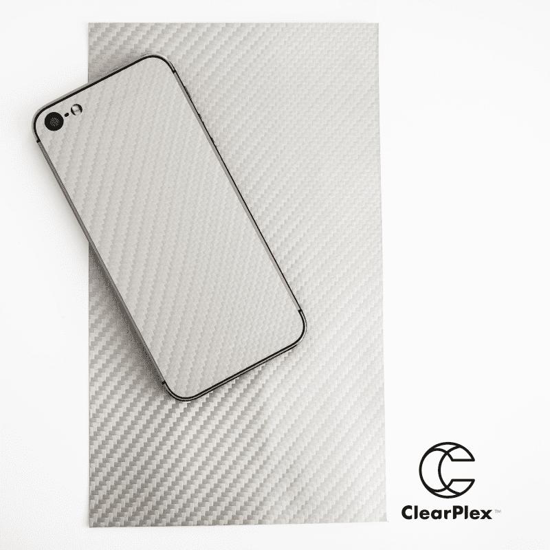 Clearview ClearPlex Carbon krycí fólie, stříbrná