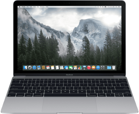 "Apple MacBook 12"" 256GB (vesmírně šedý) MJY32CZ/A"