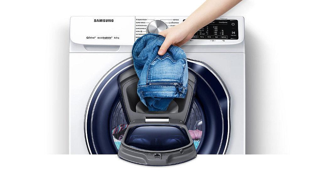 Přidejte zapomenuté prádlo