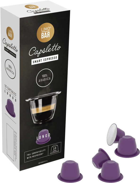 Limo Bar Capsletto Blend Lungo (10ks)