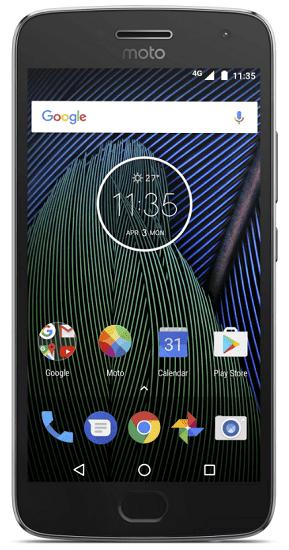 Lenovo Moto G5 Plus šedý