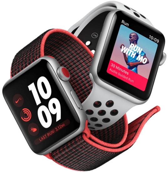 Apple Watch Series 3 Nike+ 38mm stříbrný hliník a platinový černý ... 9c66aa0706